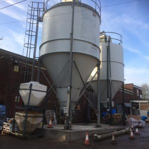 Silo Base in Radcliffe